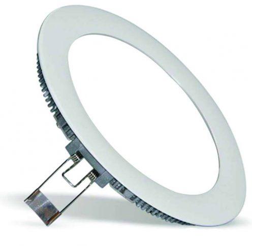 3W LED panelė apvali šilta balta šviesa 1