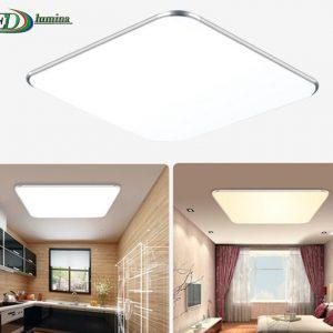 LED lubinis šviestuvas-plafonas su pulteliu dimeriuojamas 64W