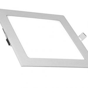 9W LED panelė kvadratinė šalta balta šviesa