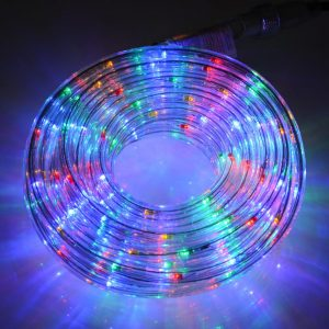 """LED lauko girlianda """"Virvė"""" spalvota 20m"""