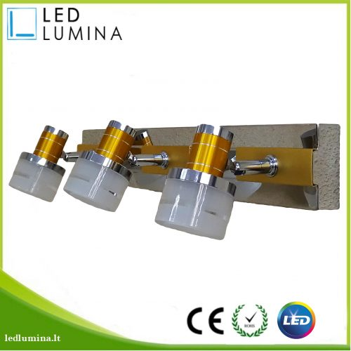LED sieninis šviestuvas 12w 1