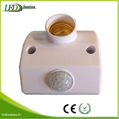E27 lemputės lizdas su indukciniu judesio davikliu 1