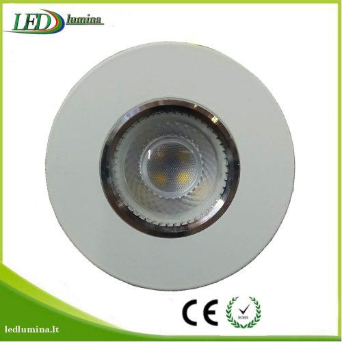 Akcentinis LED šviestuvas baltas 1