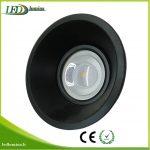 Akcentinis LED šviestuvas juodas reguliuojama šviesos kriptis