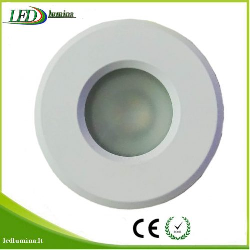 Akcentinis LED šviestuvas IP44 baltas 1