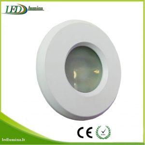 Akcentinis LED šviestuvas IP44 baltas