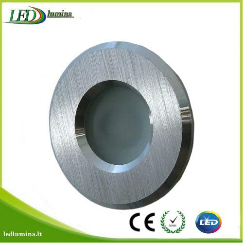 """Akcentinis LED šviestuvas """"Doro IP44"""" sidabrinis 1"""