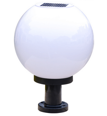 Šviestuvas RUTULYS su saulės baterija 1