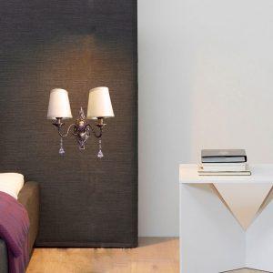 Klasikinis sieninis šviestuvas