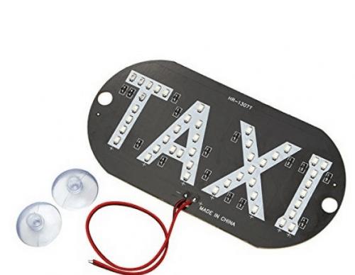 LED reklaminė lentelė TAXI 1