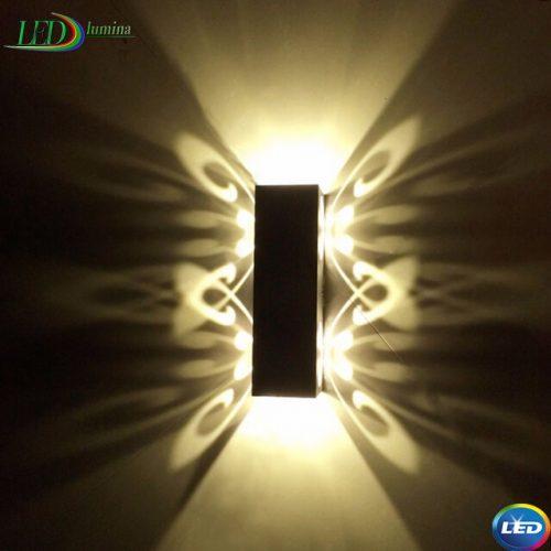 LED sieninis šviestuvas 6W Drugelis 1