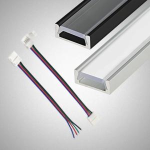 LED juostų priedai